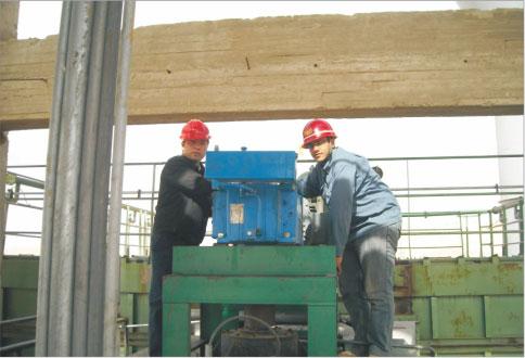 埃及Medcom ASMAN水泥厂安装现场