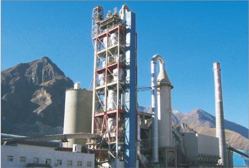 西藏高争水泥生产线